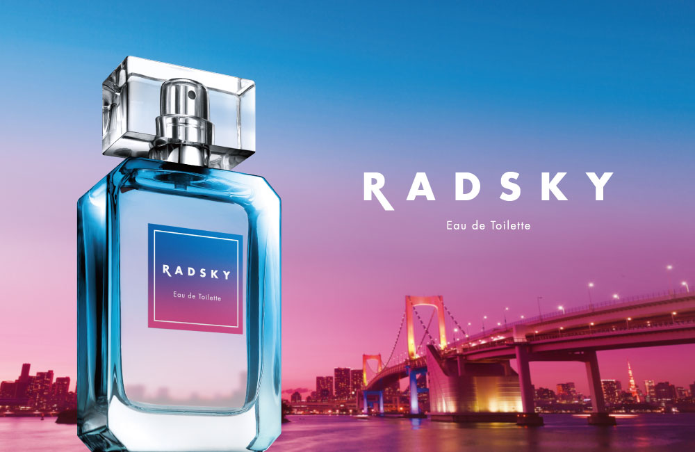 ラッドスカイのデザインは この幻想的で美しい空の世界観を イメージ